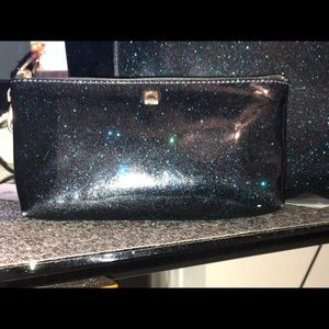 kate spade Bags - Kate space sparkle galaxy blue with MatchingWallet